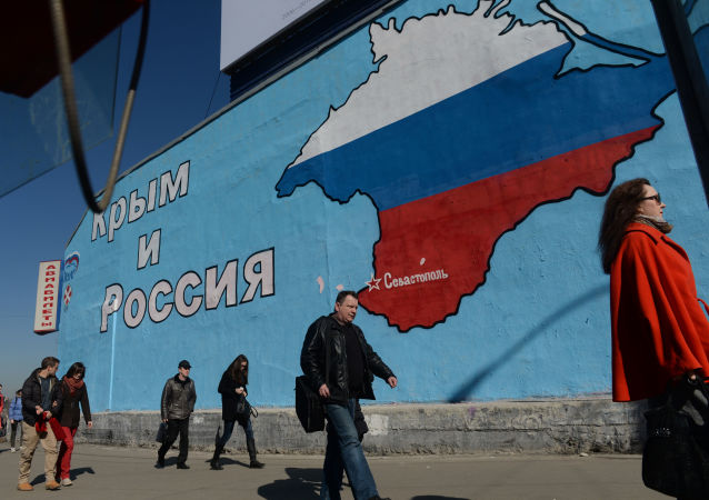 乌克兰武装力量在克里米亚边境附近举行演习