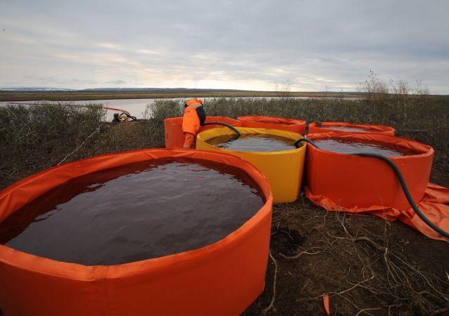 诺里尔斯克油料泄漏后可能在近郊铺设泵运管道
