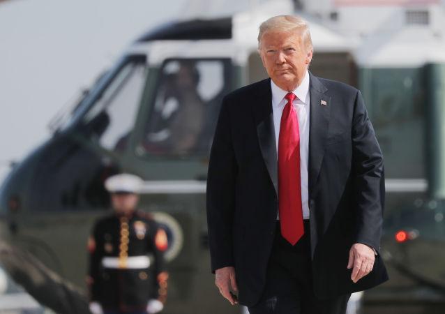 媒体:特朗普或在拜登就职典礼当天乘直升机飞离白宫