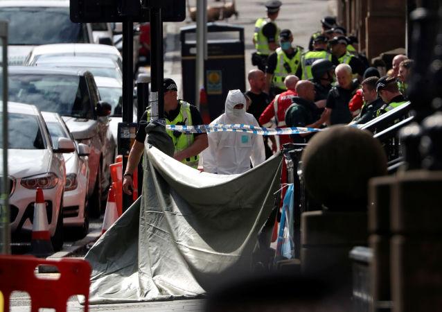 警方:苏格兰格拉斯哥持刀袭击事件不被视为恐怖袭击