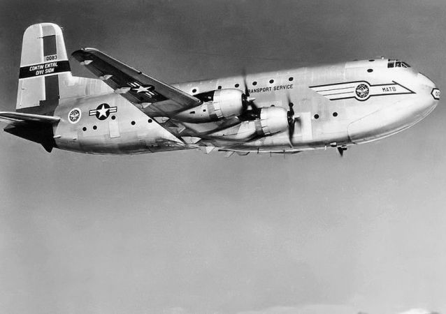 "C-124 Globemaster""环球霸王""军用运输机"