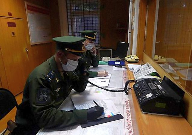 俄宇宙空间监控中心开展综合反恐训练