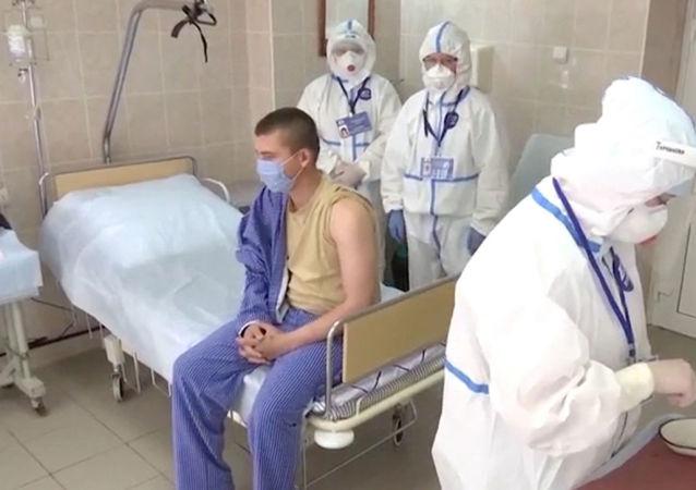 """加马列亚中心:首批""""卫星-V""""疫苗受试者没有出现不良反应"""