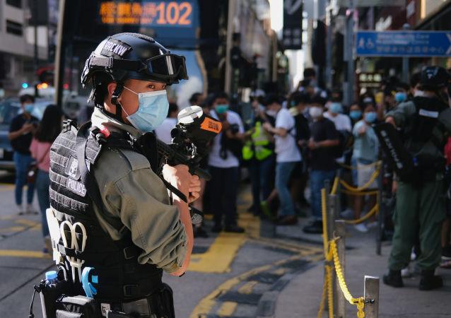 香港中文大学3名学生涉嫌港铁大学站冲突被警方拘捕
