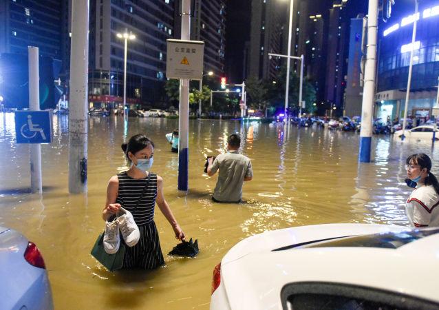中国水利部:今年中国洪涝灾害造成7047.1万人次受灾