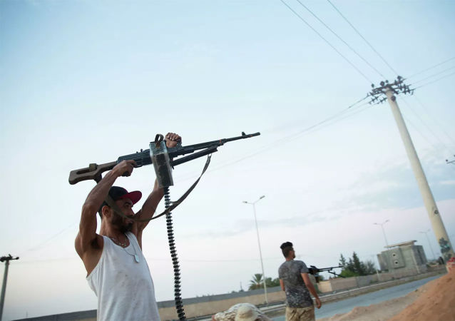安理会称有必要制定利比亚武装分子解除武器计划