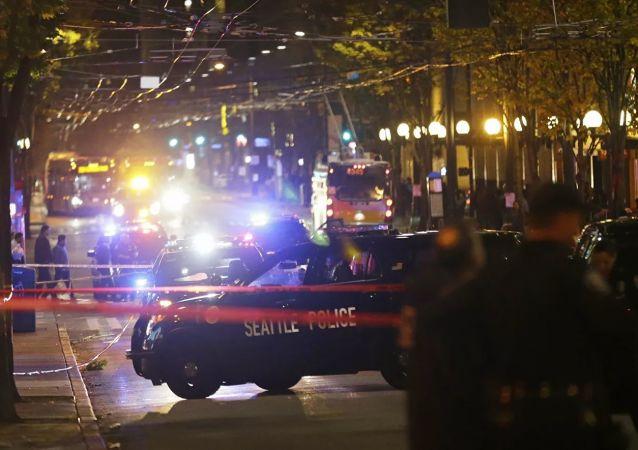 美国警方证实西雅图发生枪击事件致1名少年死亡
