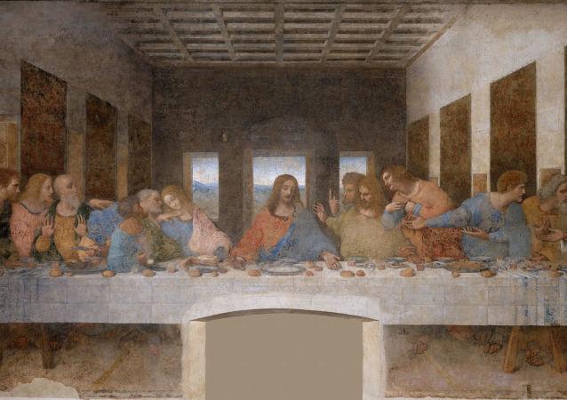 列奥纳多·达·芬奇著名的画作《最后的晚餐》