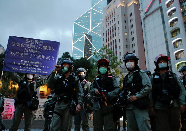 香港警员(资料图片)