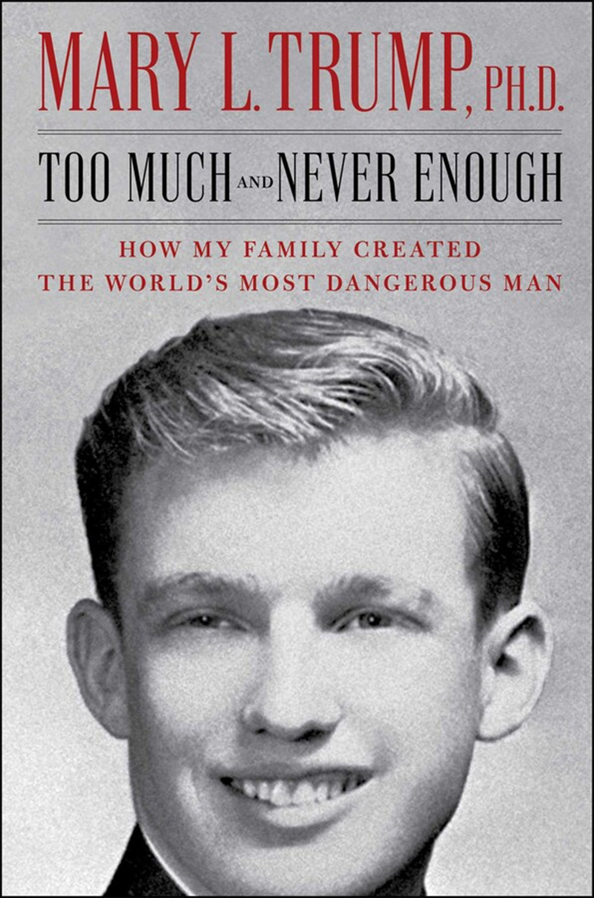 Too Much and Never Enough by Mary L. Trump, from Simon & Schuster
