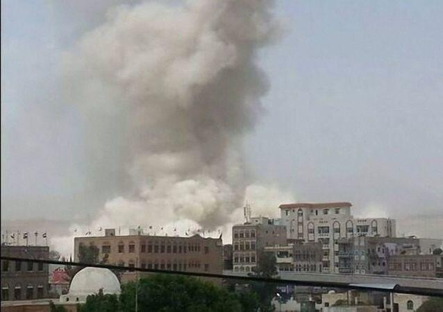 也门萨那(资料图片)