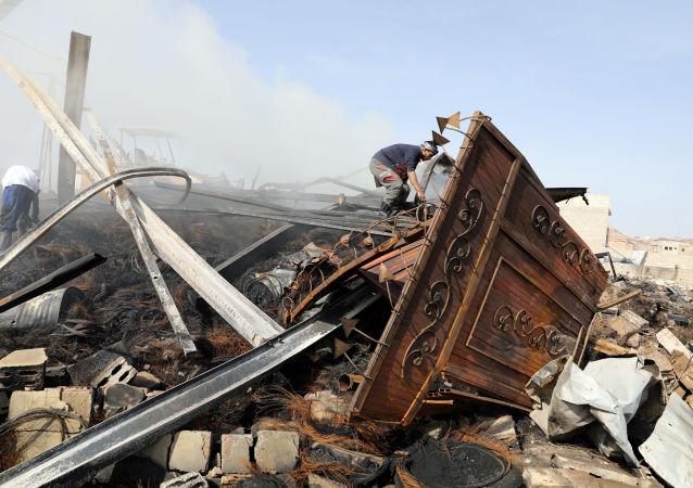 媒体:美国关于也门冲突的建议包括全面停火