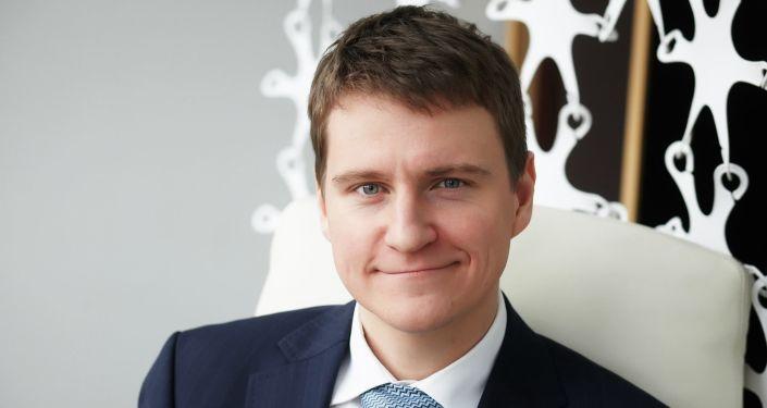 """莫斯科""""专业不动产""""咨询公司总经理杰尼斯·博布科夫"""