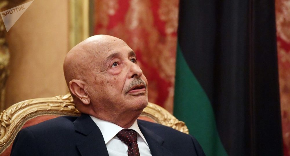 利比亚国民代表大会议长访问莫斯科