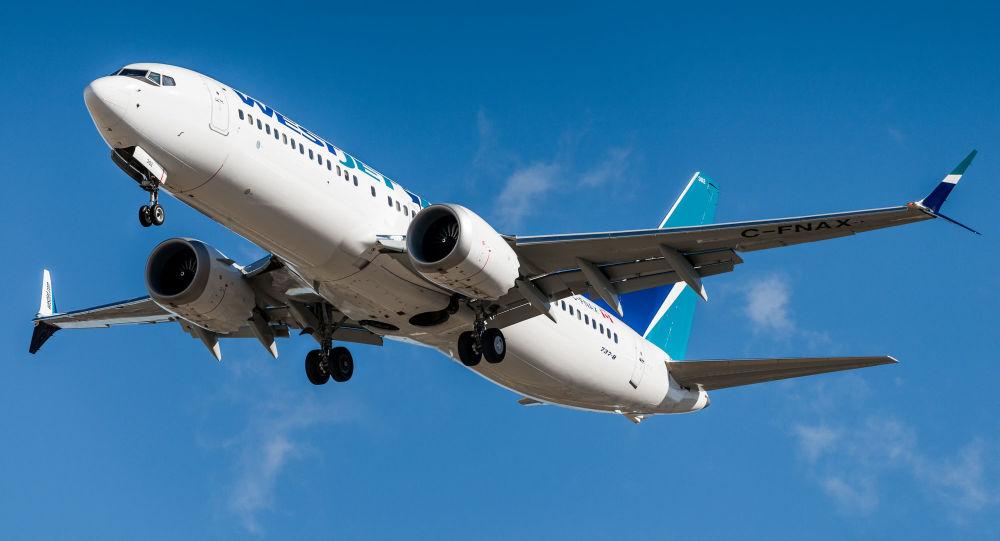 一架波音737 MAX飞机