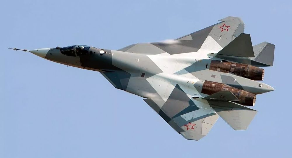 苏-57战斗机