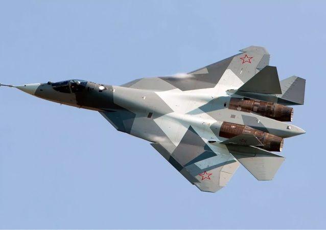 """""""猎手""""无人机将成为苏-57的""""忠诚僚机"""""""