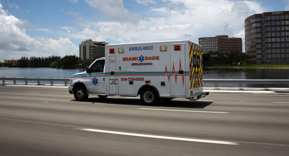 美国佛罗里达州救护车