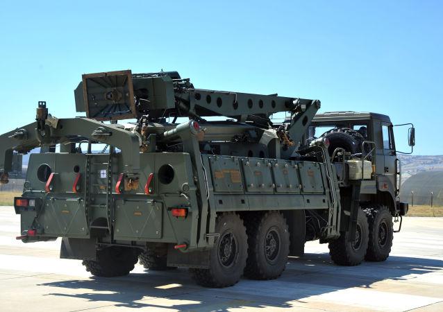 金刚石-安泰集团提前向国防部交付了一套S-400导弹