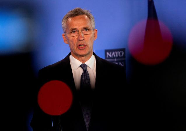 北约秘书长:美国转移驻欧军人说明致力于保障欧洲安全