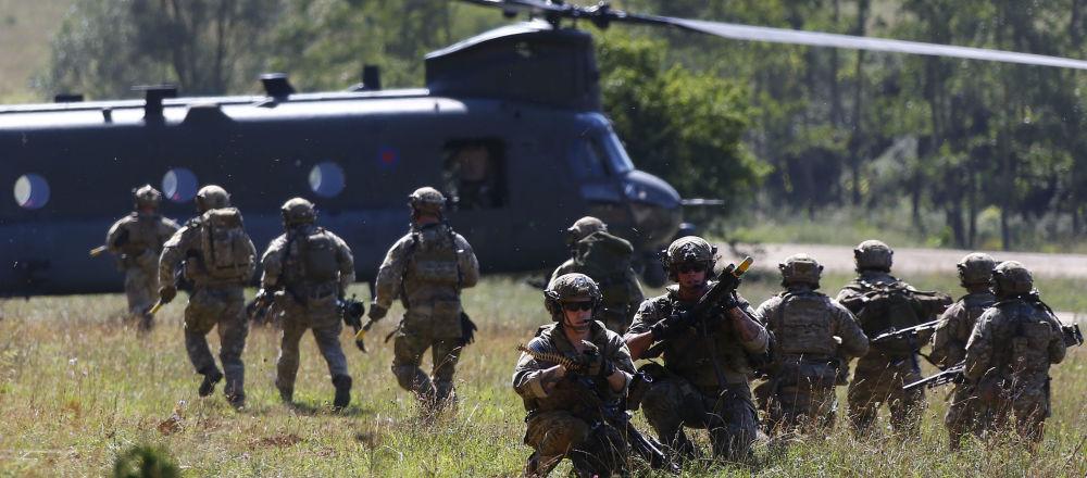 美国军人在德国