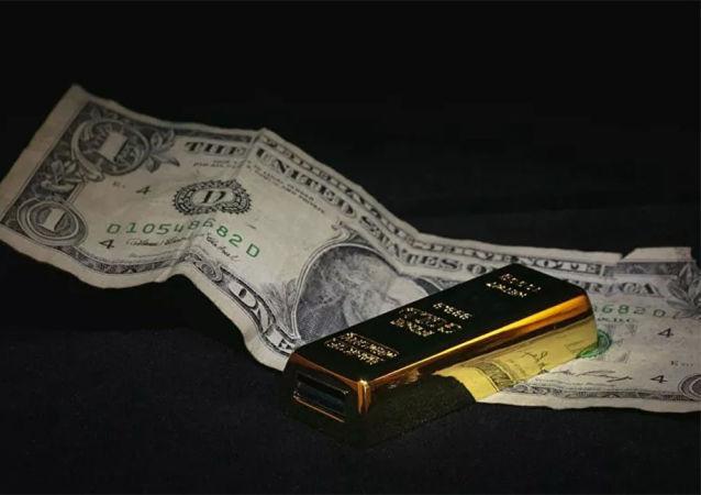 美元,黄金