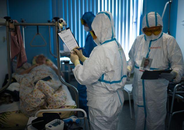 莫斯科新增新冠病毒死亡病例74例