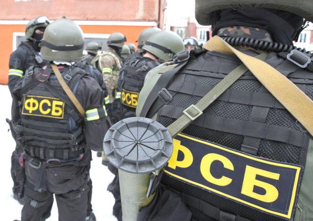 俄联邦安全局在哈巴罗夫斯克挫败一起恐袭图谋