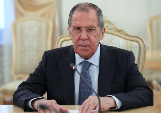 俄外长:美国似乎准备与任何捍卫自己利益的国家发生冲突